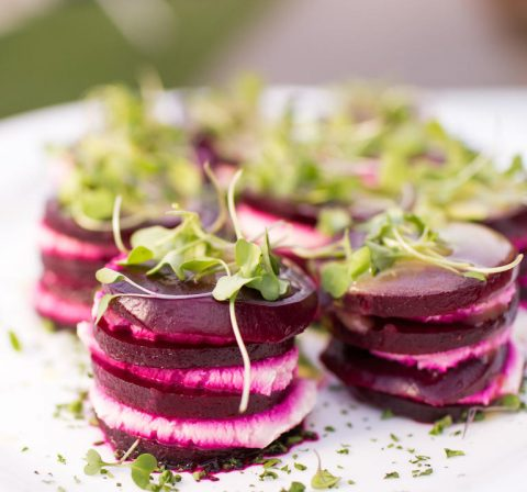 Beetroot and Goats Cheese