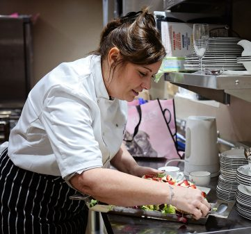 An introduction to Melanie Williams (Owner and Head Chef)
