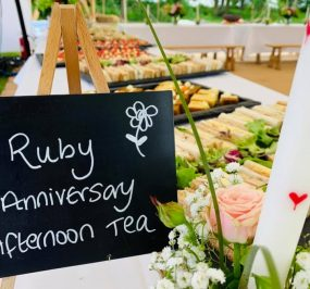 Ruby Anniversary Afternoon tea