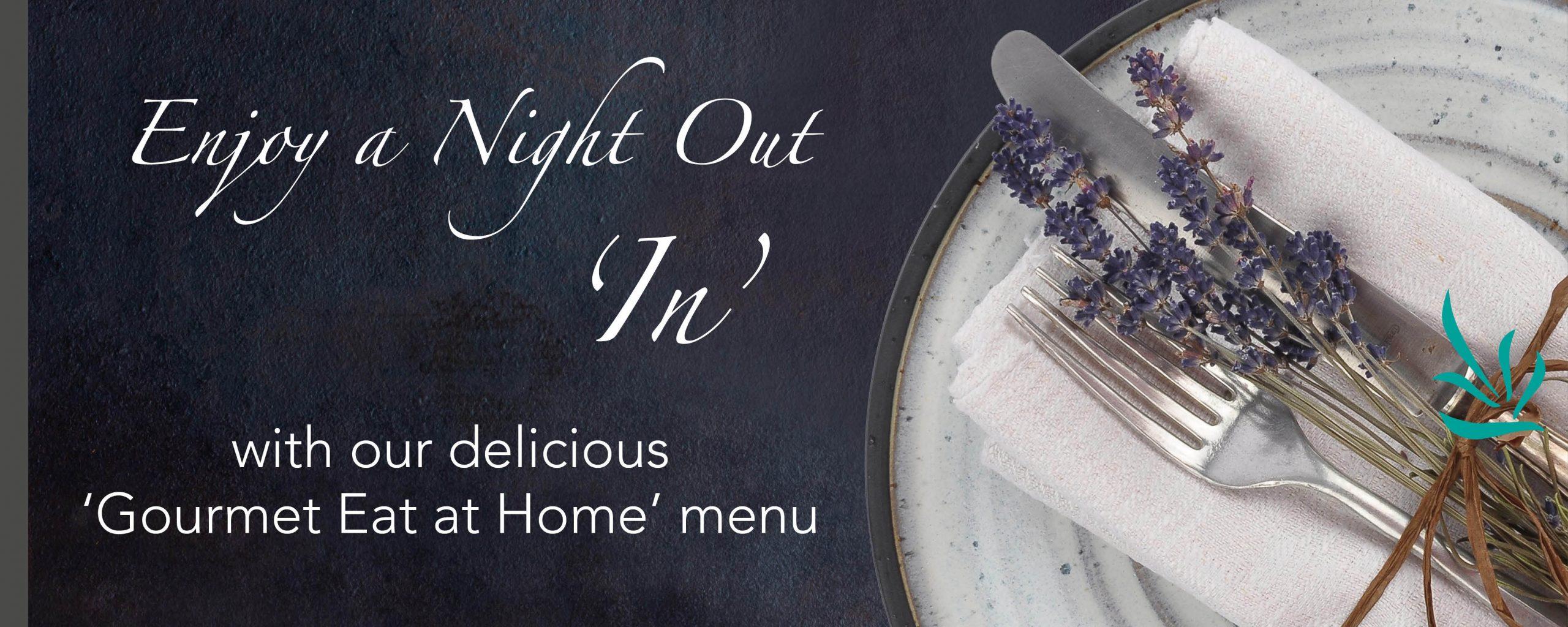 New Gourmet menu page slider