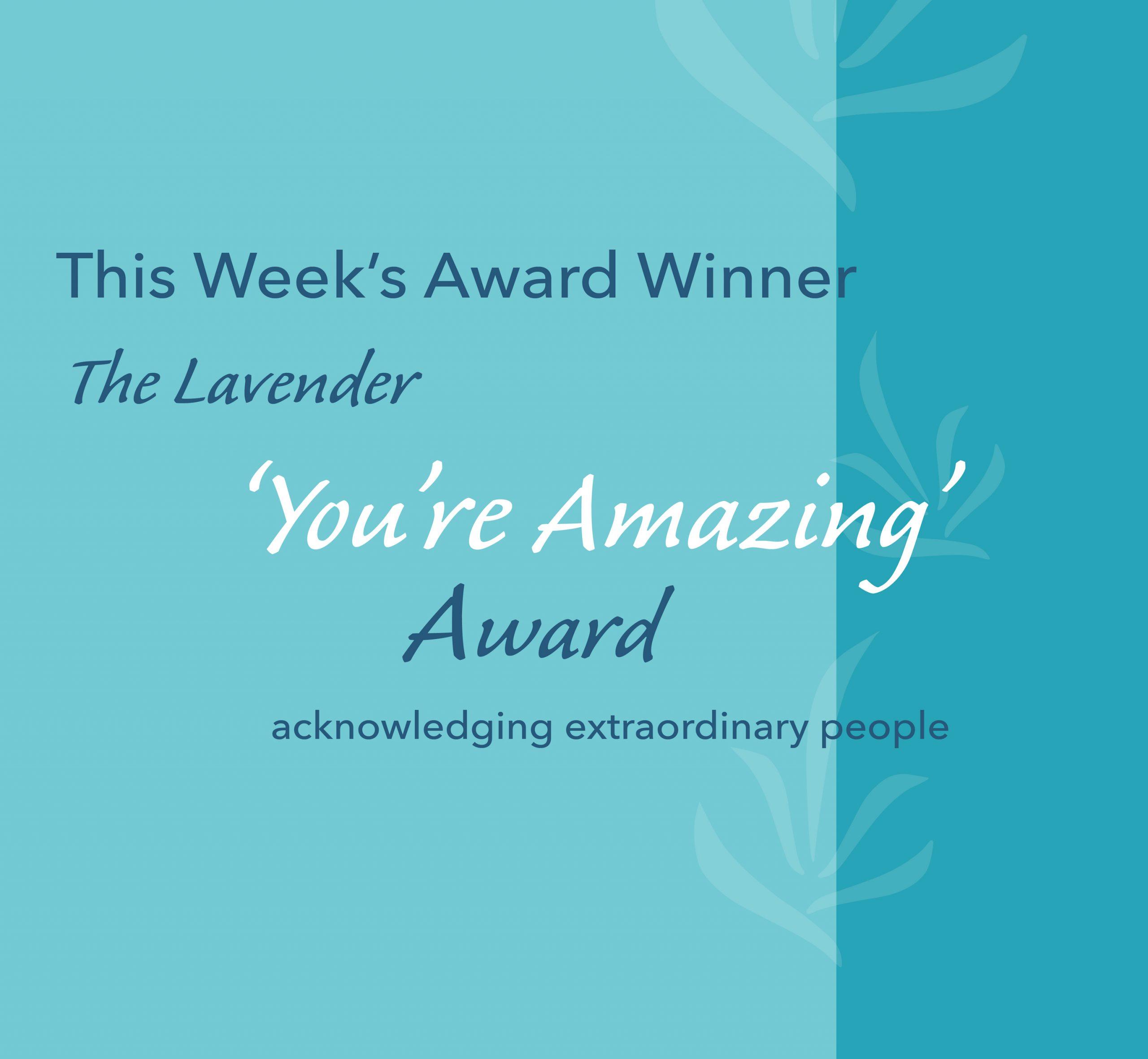 Your Amazing Award social media icon