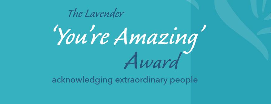 'You're Amazing' Award